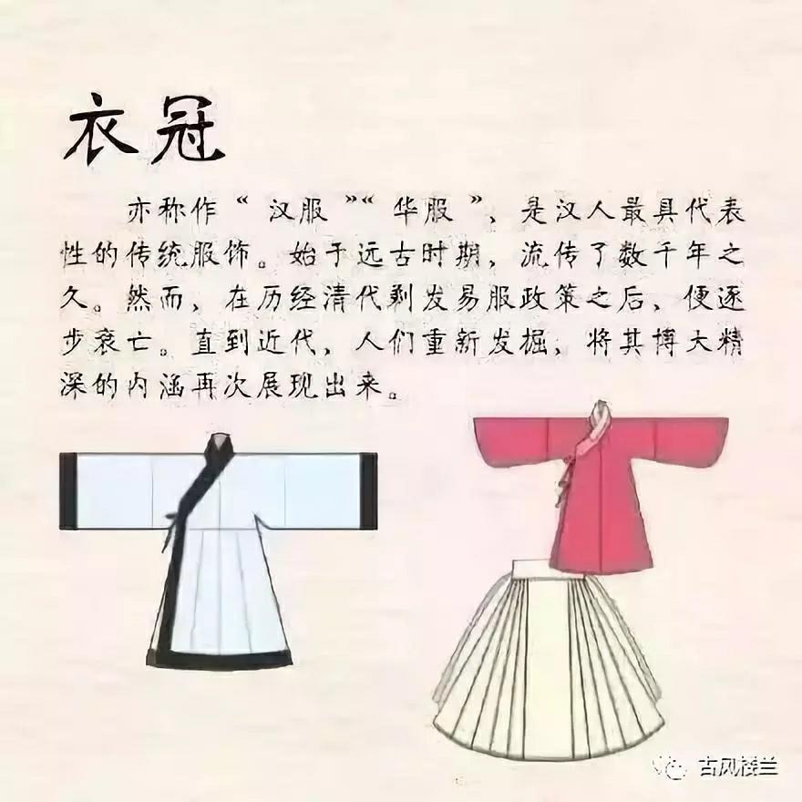 中國傳統漢服小知識,你知道嗎?